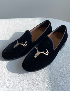 deer velvet shoes